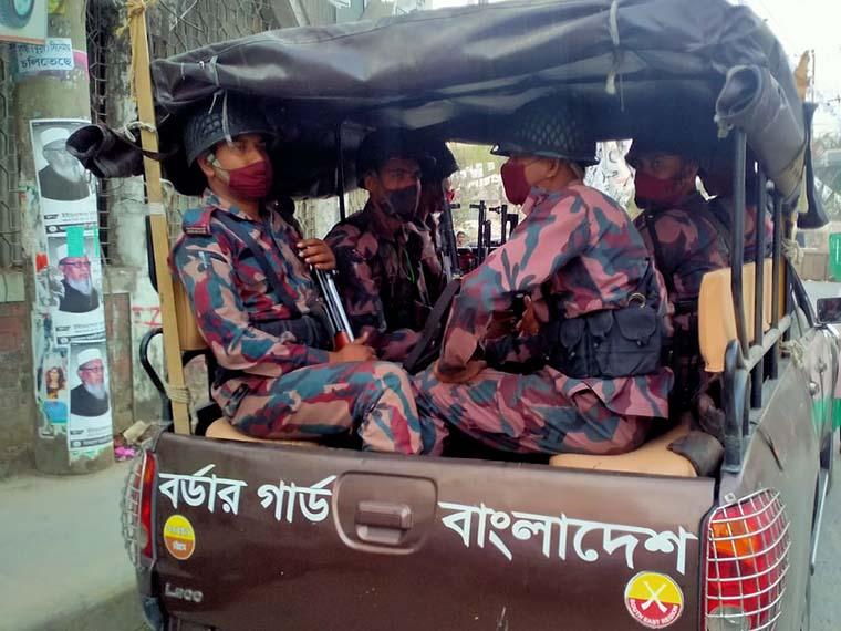 চট্টগ্রামে ২৫ প্লাটুন বিজিবি মোতায়েন
