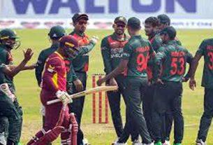 বাংলাদেশকে ১৪৯ রানের টার্গেট ওয়েস্ট ইন্ডিজের