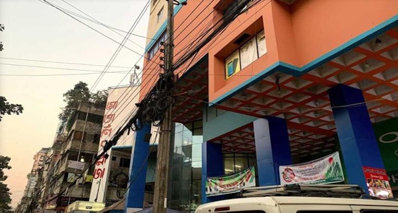 ঢাকার মোতালিব প্লাজায় অগ্নিকাণ্ড