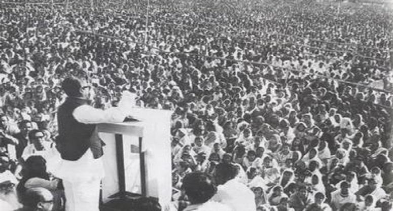 ৭ মার্চের ভাষণ 'ইতিহাসের প্রতিশোধ'