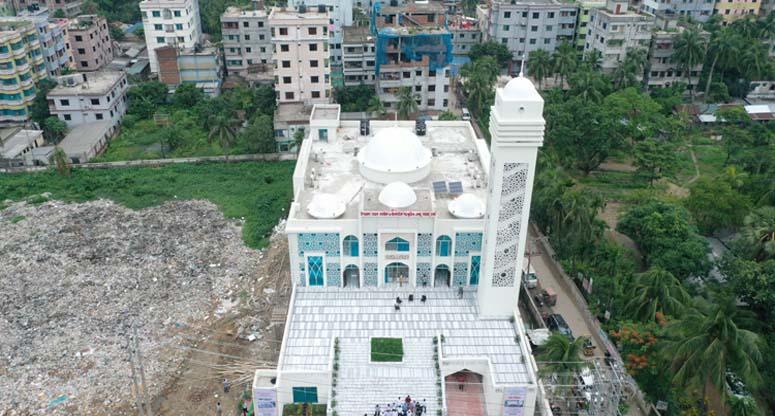 ৫০ মডেল মসজিদ উদ্বোধন করলেন প্রধানমন্ত্রী