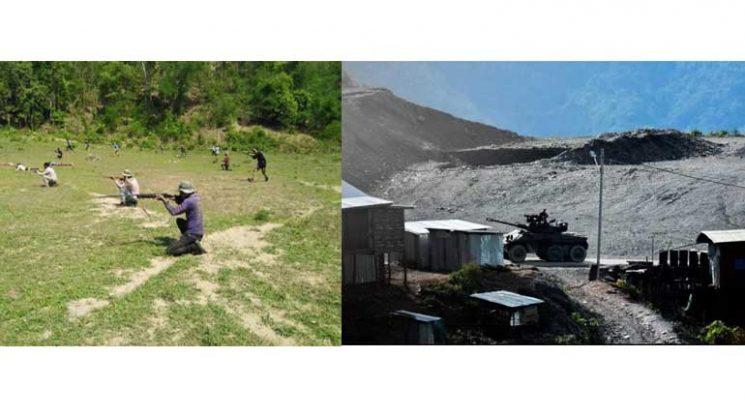 মিয়ানমার: চিন প্রদেশ ও ২টি অঞ্চলে ব্যাপক প্রতিরোধের প্রস্তুতি
