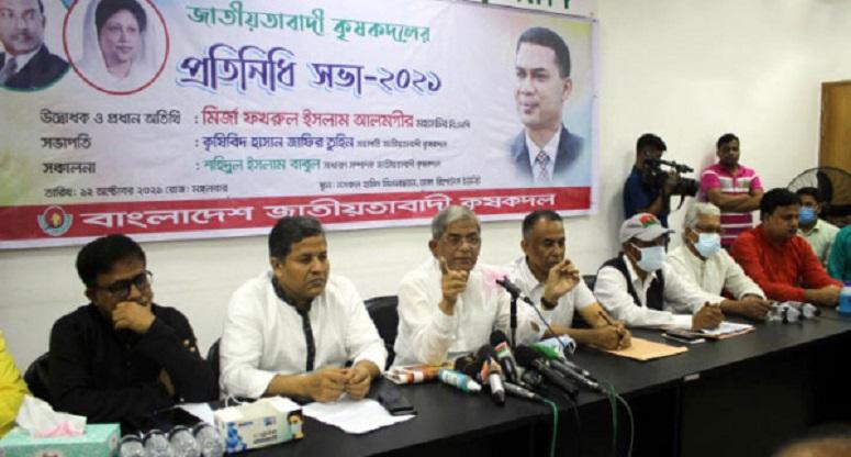 সব গণতান্ত্রিক প্রতিষ্ঠানকে ধ্বংস করেছে সরকার: মির্জা ফখরুল